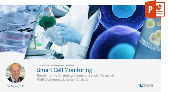 Smart Live-Cell Monitoring & Analysis webinar
