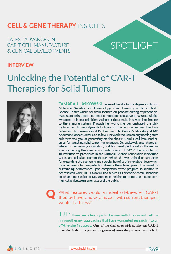 Editorial Article: Unlocking the Potential of CAR-T Therapies for Solid Tumors